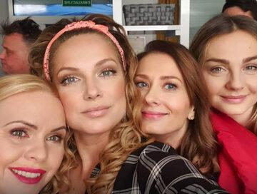 """Aktorki z serialu """"Przyjaciółki"""""""