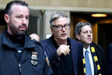 Alec Baldwin w sądzie