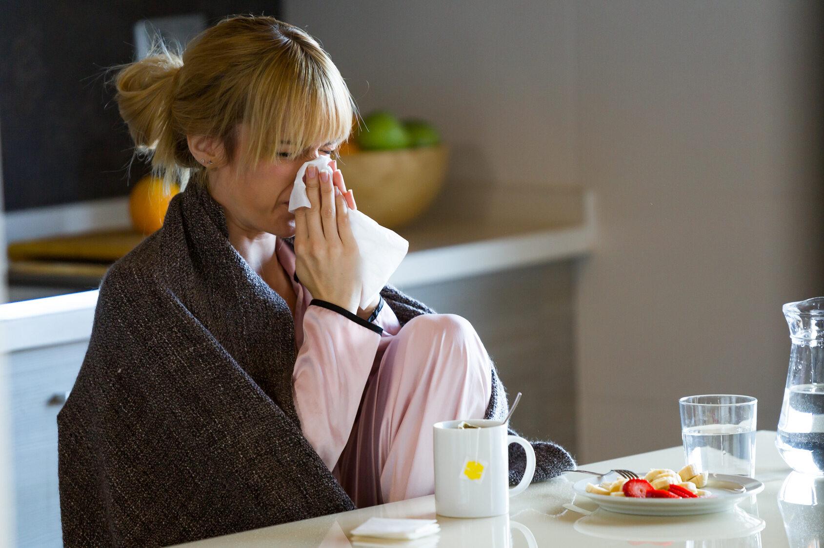 Alergia, przeziębienie, zdj. ilustracyjne
