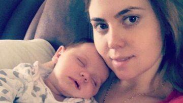 Alexandra Loredana i jej syn Dominic