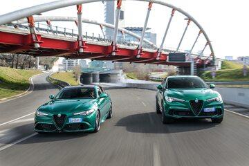 Alfa Romeo Giulia i Stelvio Quadrifoglio MY 2020
