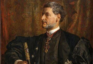 Alfred Potocki na portrecie Jana Matejki