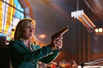 "Allison Mack w serialu ""Tajemnice Smallville"""
