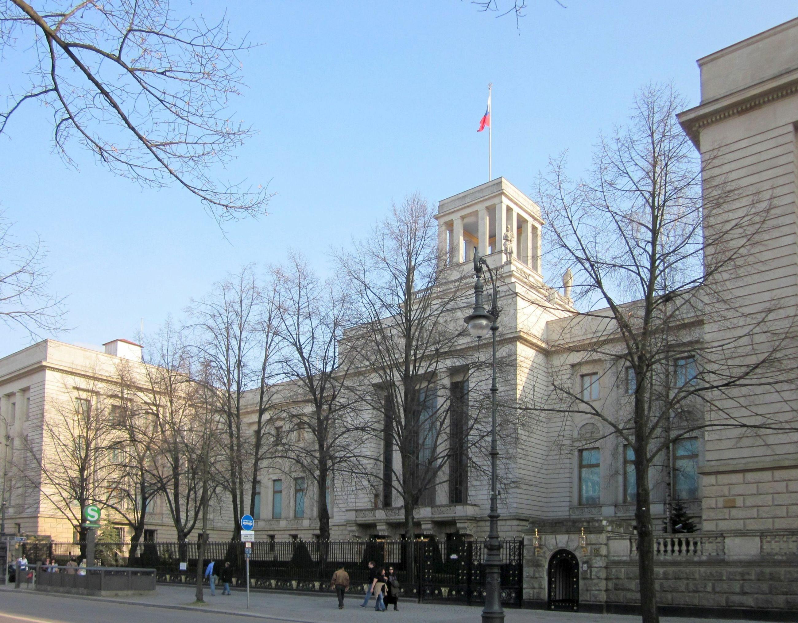 Ambasada Rosji w Berlinie