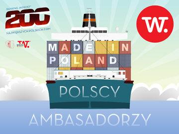 """Ambasadorzy """"Wprost"""" - najwięksi polscy eksporterzy"""