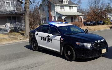 Amerykańska policja, zdjęcie ilustracyjne