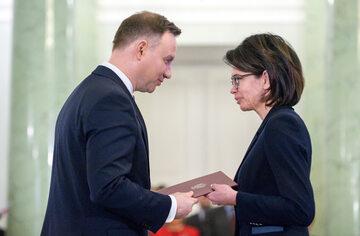 Andrzej Duda, Anna Streżyńska