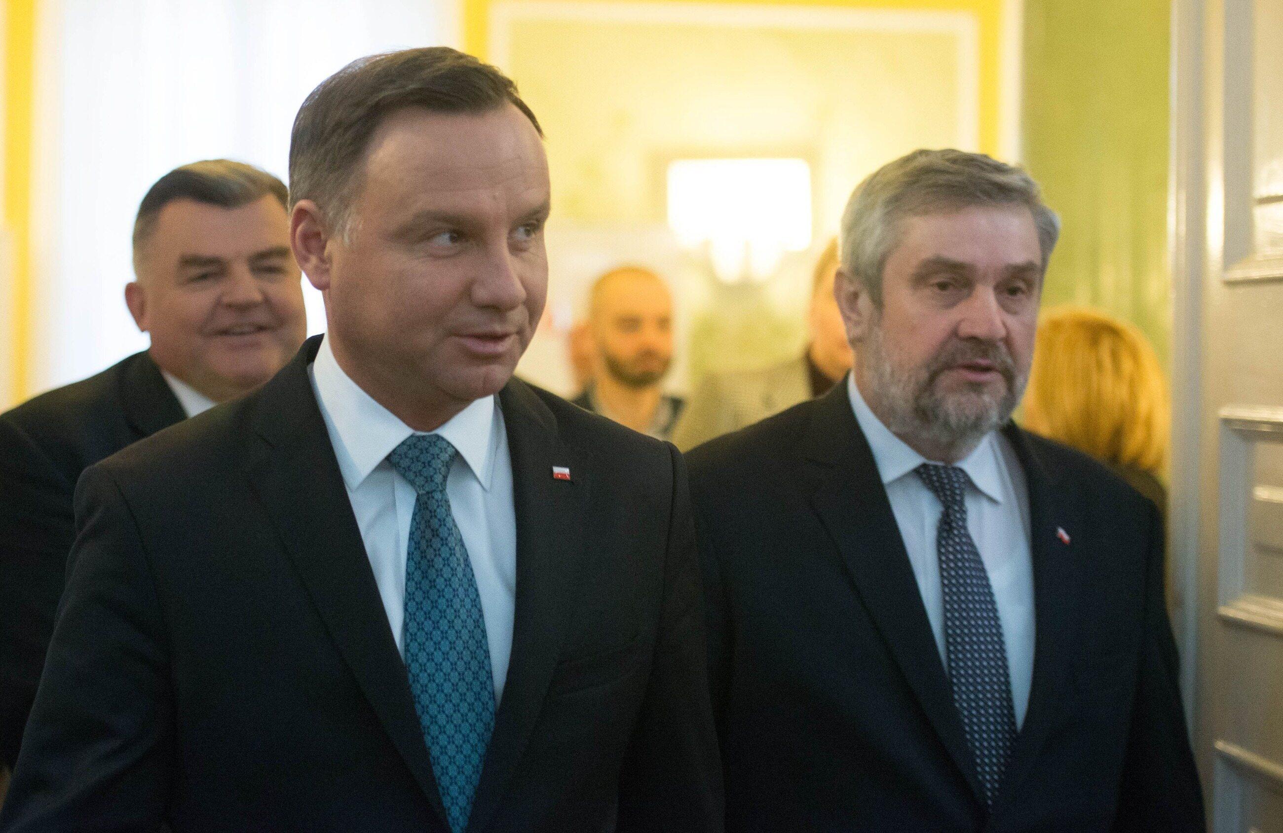 Andrzej Duda i Jan Krzysztof Ardanowski