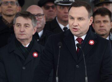 Andrzej Duda i Marek Kuchciński