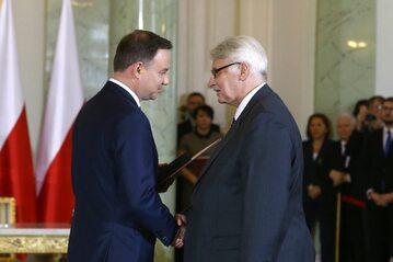 Andrzej Duda i Witold Waszczykowski