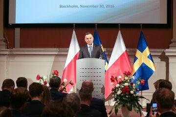 "Andrzej Duda na inauguracji seminarium ""Innovation: a key to future growth. Polish and Swedish experiences"""