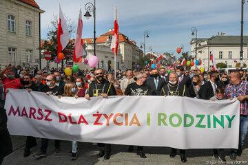 Andrzej Duda na Marszu dla Życia i Rodziny