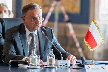 Andrzej Duda na spotkaniu Grupy Arraiolos