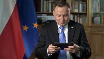Andrzej Duda podczas sesji Q&A