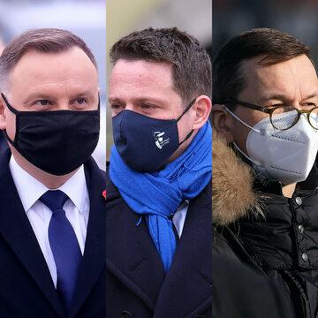 Andrzej Duda, Rafał Trzaskowski, Mateusz Morawiecki