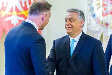 Andrzej Duda, Viktor Orbán (zdjęcie ilustracyjne)