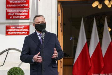 Andrzej Duda w Bydgoszczy