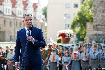 Andrzej Duda w Strzelinie