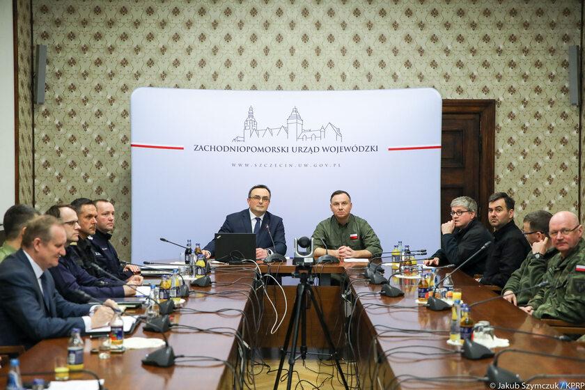 Andrzej Duda w Szczecinie