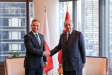 Andrzej Duda z Recepem Tayyipem Erdoganem