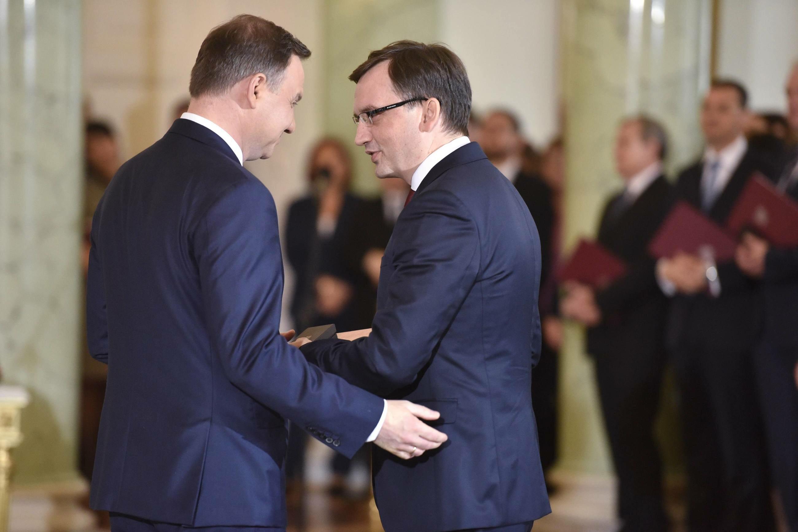 Andrzej Duda, Zbigniew Ziobro