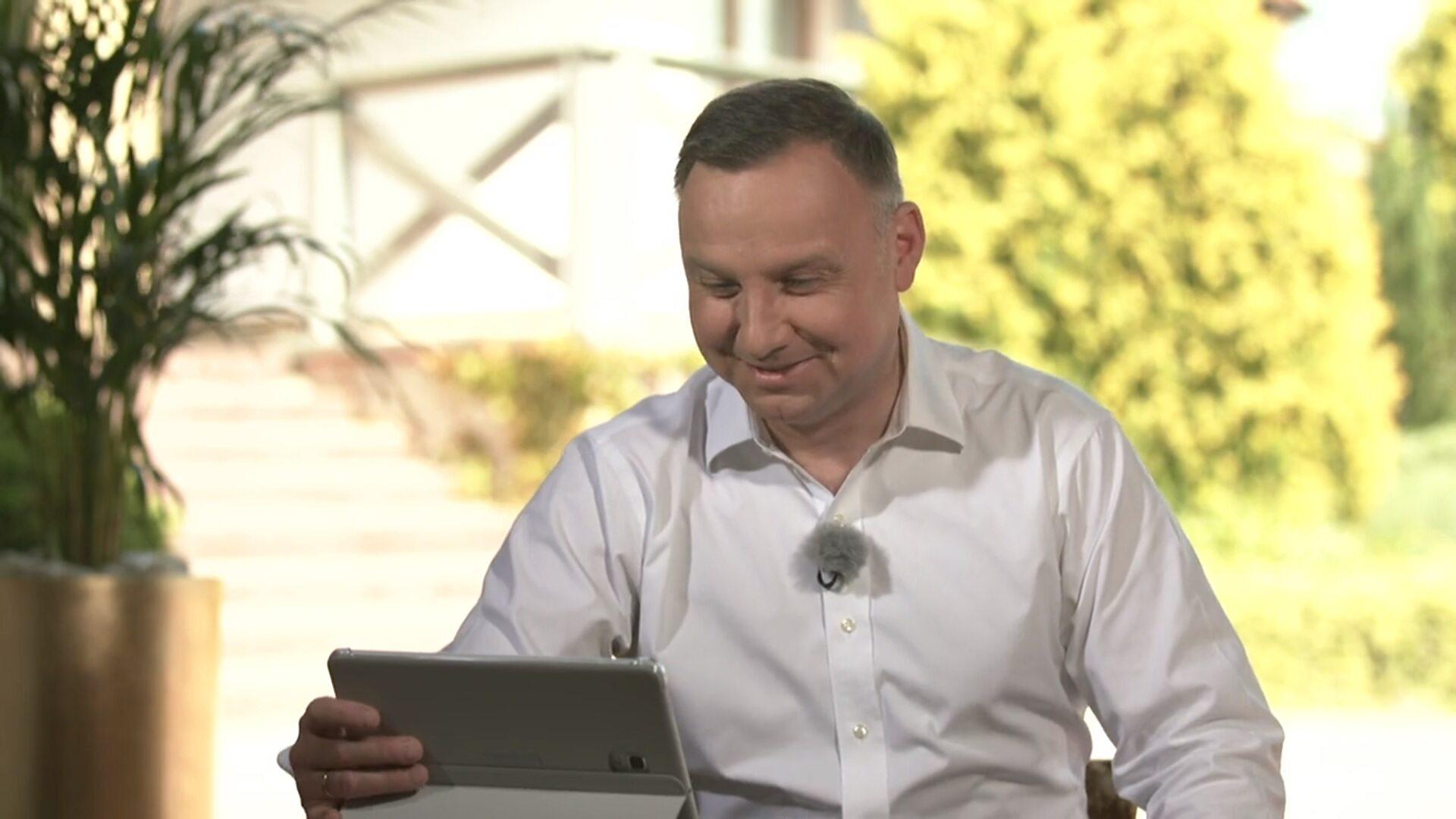 Andrzej Duda Odpowiedzial Na Pytanie O Delegalizacje K Popu Jest Dla Mnie Konkurencja