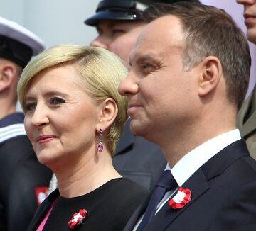 Andrzej i Agata Duda