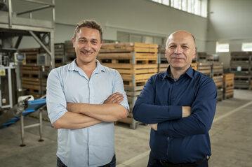 Andrzej Obszańsk i Antoni Tudryn