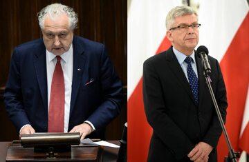 Andrzej Rzepliński i Stanisław Karczewski