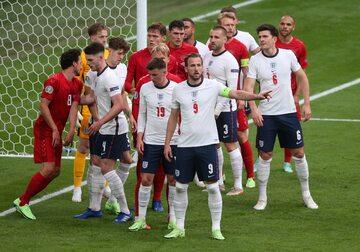 Anglia vs Dania w Euro 2020