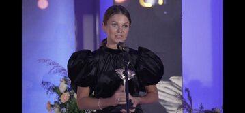 Anna Lewandowska na gali ShEO 2021
