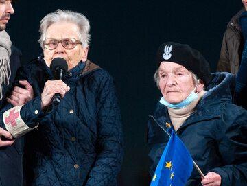 Anna Przedpełska-Trzeciakowska i Wanda Traczyk-Stawska