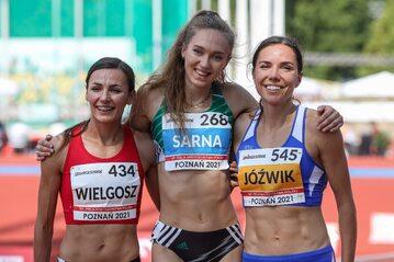 Anna Wielgosz, Angelika Sarna i Joanna Jóźwik