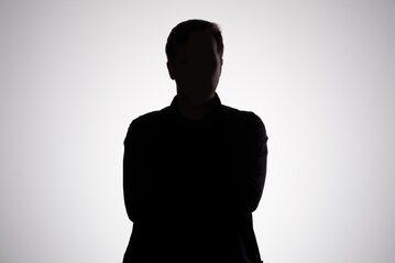Anonimowy mężczyzna