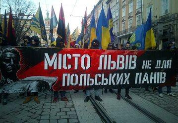 Antypolski marsz we Lwowie