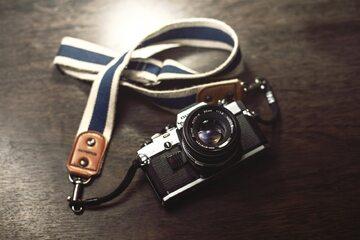 Aparat fotograficzny, zdjęcie ilustracyjne