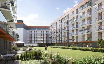 Apartamentowiec, wizualizacja
