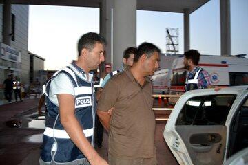 Aresztowanie jednego z puczystów w Turcji