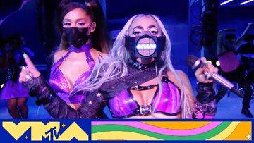 Ariana Grande i Lady Gaga na MTV VMAs 2020