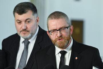 Artur Dziambor i Grzegorz Braun