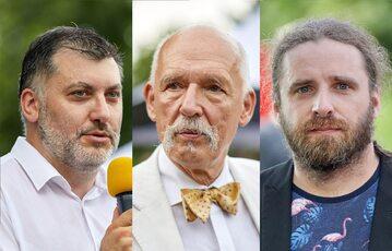 Artur Dziambor, Janusz Korwin-Mikke i Dobromir Sośnierz