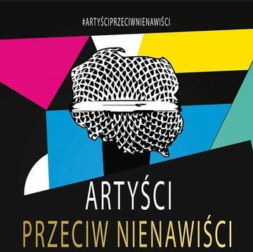 Artyści przeciw nienawiści - plakat koncertu