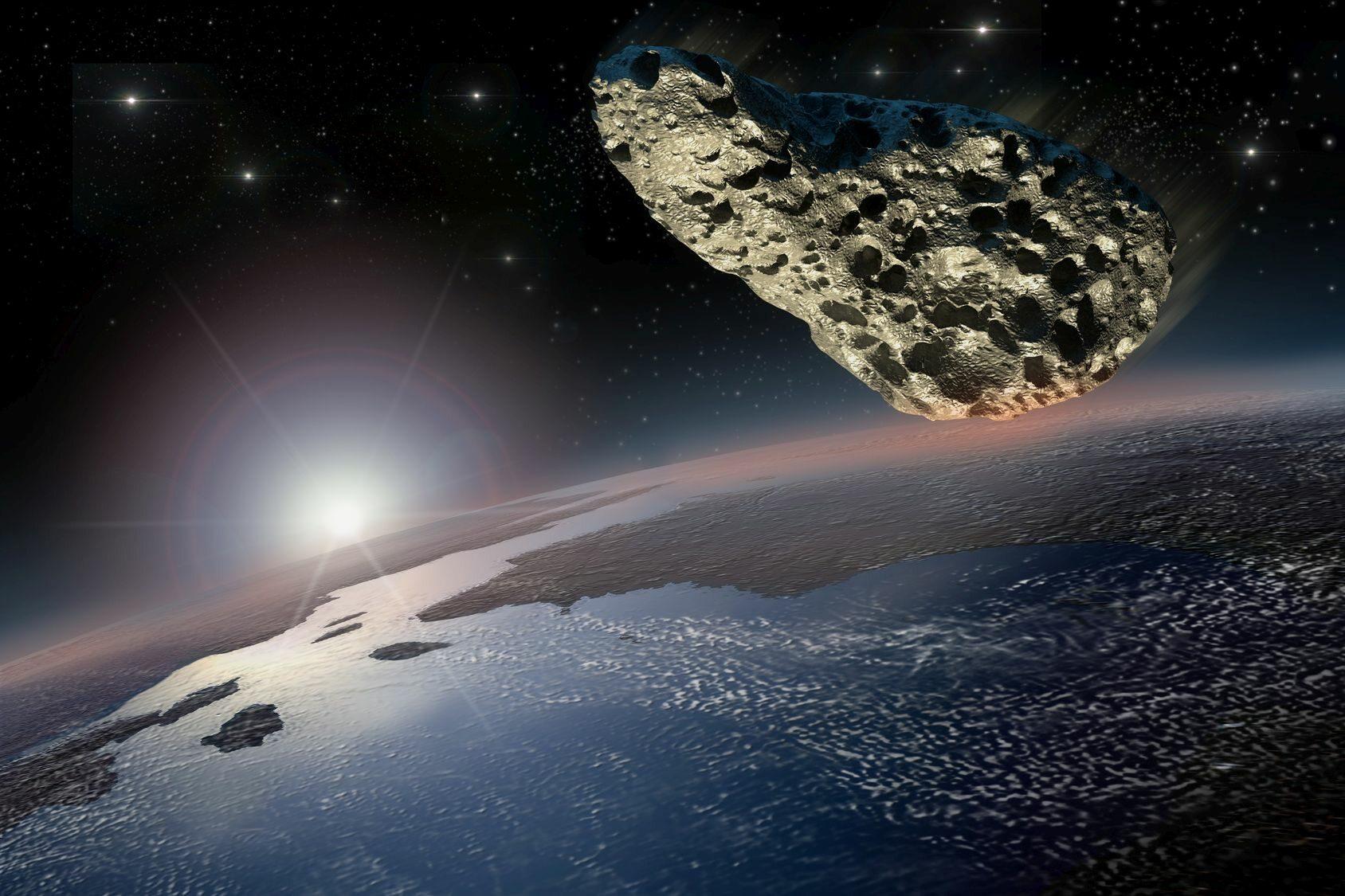 Asteroida, zdj. ilustracyjne