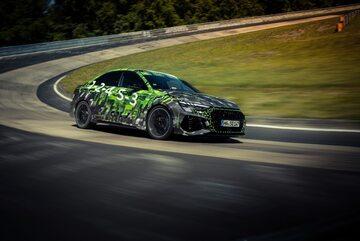 Audi RS3 na Nurburgringu
