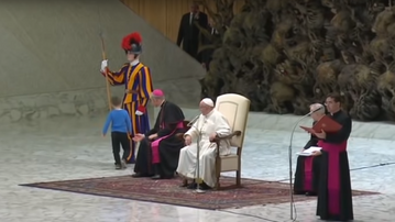 Audiencja generalna u Franciszka