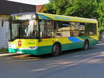 Autobus MZK w Ostrołęce