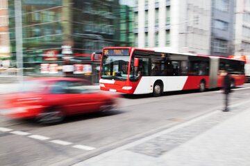 Autobus w mieście