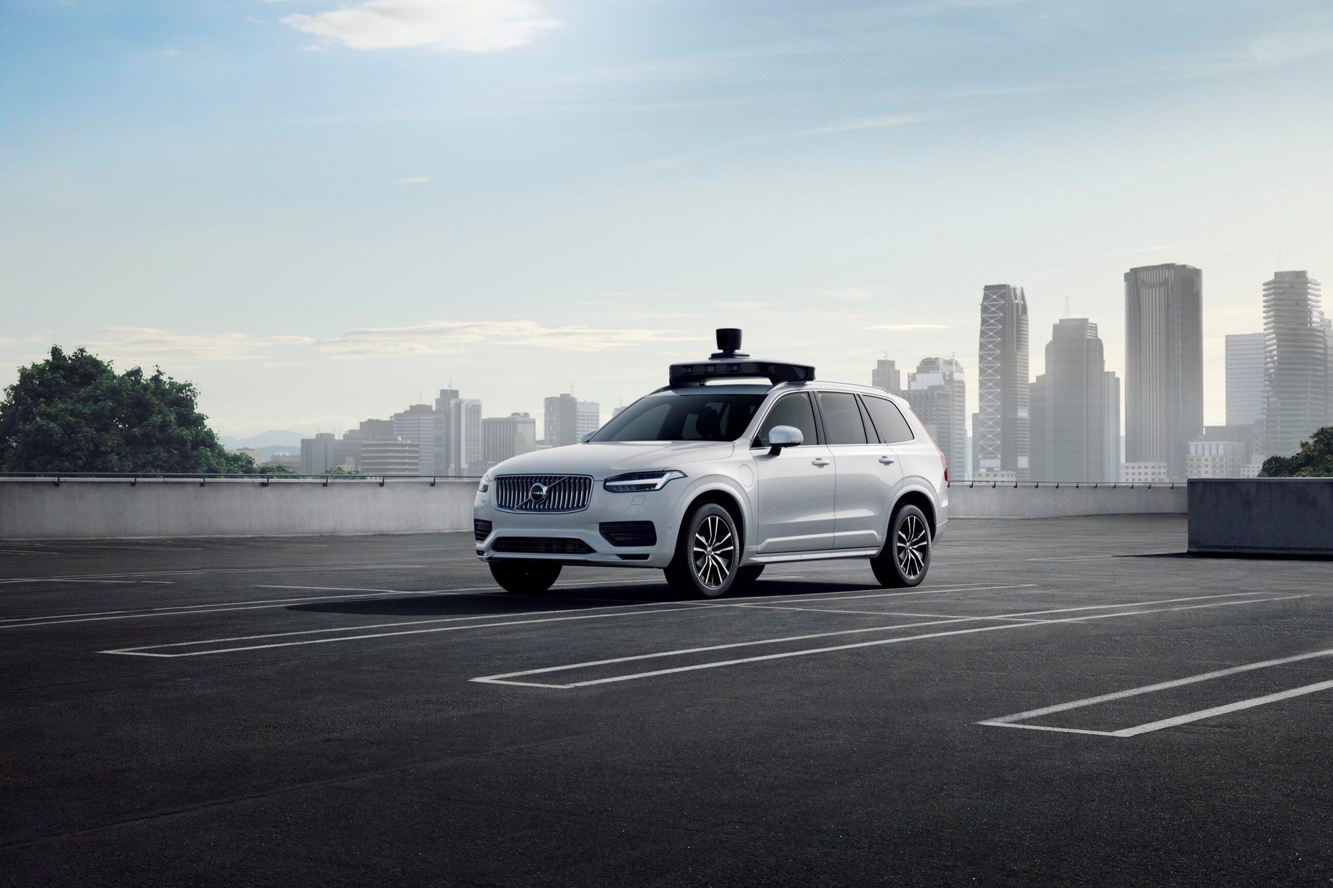 Autonomiczne Volvo XC90/Uber