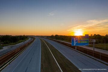 Autostrada A2, nowy odcinek