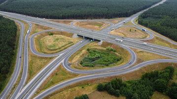 Autostrada, droga ekspresowa, węzeł Bydgoszcz Południe